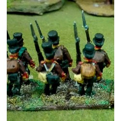 Infantry kneeling firing