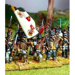 Line Infantry Command with shako (NP15-ILN005)