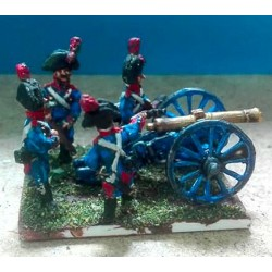 Line artillery with 8-pound gun (NP15-ART001)