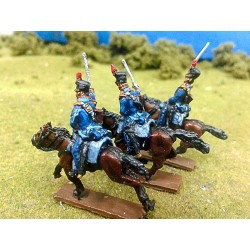 Dragoons with Shako, Troopers (NP15-PTG006) back