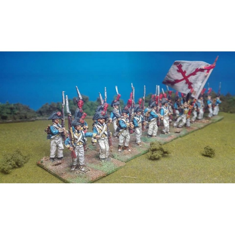 Campaing Line Infantry Marching (NP28-SP005)